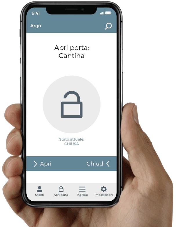 Apri la porta blindata con il tuo iPhone