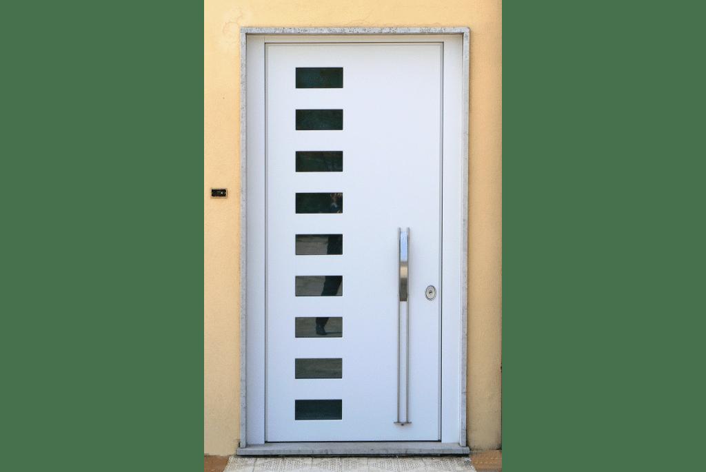 Porta blindata Ariete con vetri