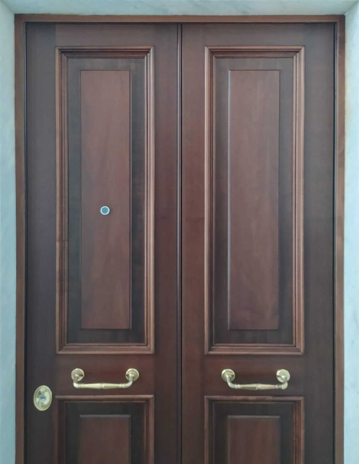 porta blindata vecchia genova
